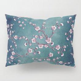 SAKURA LOVE  GRUNGE TEAL Pillow Sham