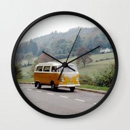 Combi dream yellow Wall Clock