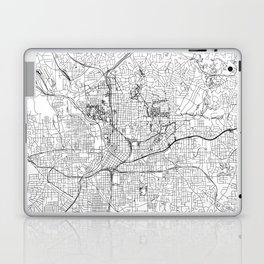 Atlanta White Map Laptop & iPad Skin