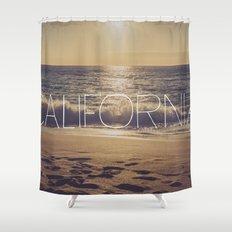 California Shower Curtain