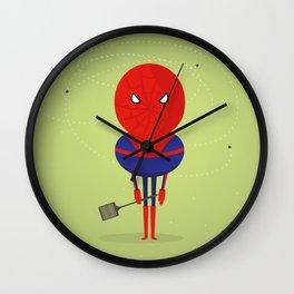 Spider man: My bug hero! Wall Clock