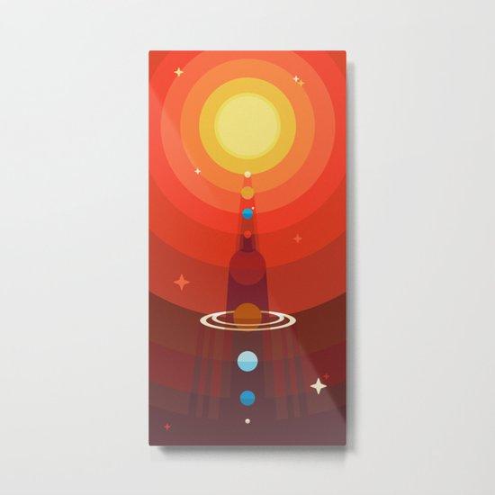 Solar Metal Print