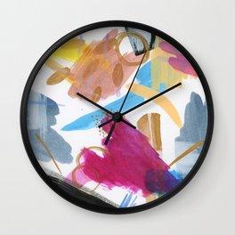 Seek Color Wall Clock