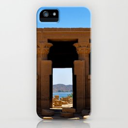 Temple of The Goddess iPhone Case