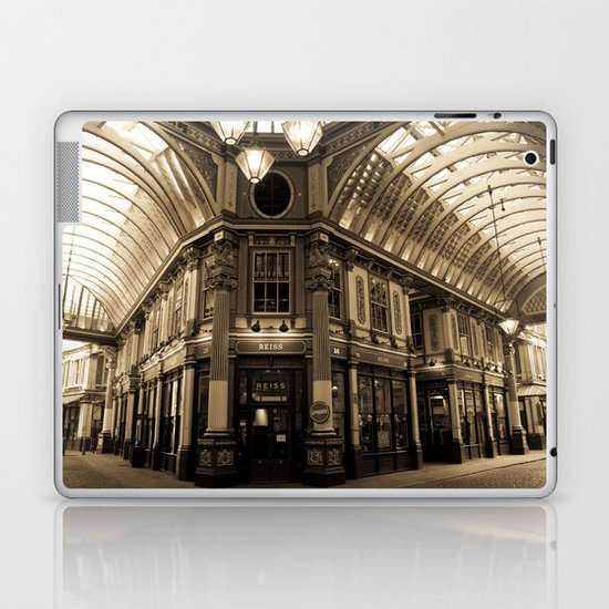 Leadenhall Market London Laptop & iPad Skin