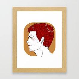 stiles Framed Art Print