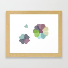 Heartflowers1 Framed Art Print