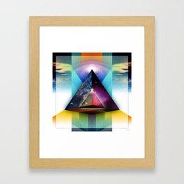 Inward Traveler Framed Art Print