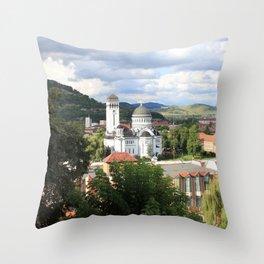 Sighisoara II Throw Pillow