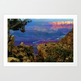 Spectacular View of the Grand Canyon Art Print