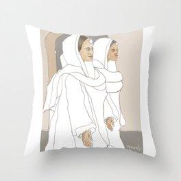 Punjabi Mutiyars 1 Throw Pillow