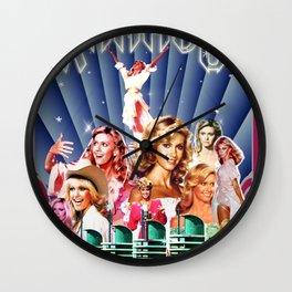 Xanadu Olivia Newton-John Wall Clock