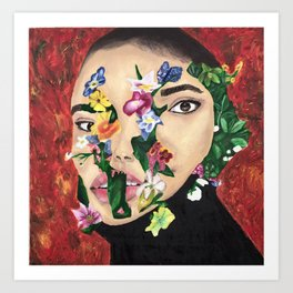 Breaking Beauty Art Print
