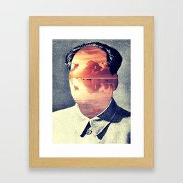 Insurgent Mao Framed Art Print