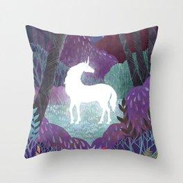 The Last Unicorn Throw Pillow