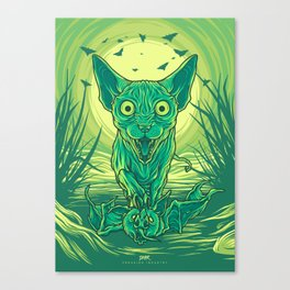 Lovely Dark Creatures series - Hortus Canvas Print