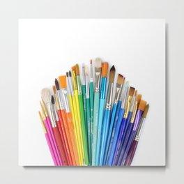 Paint the Rainbow Metal Print