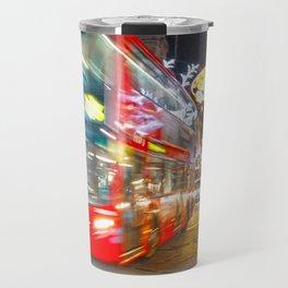 Red buses Travel Mug