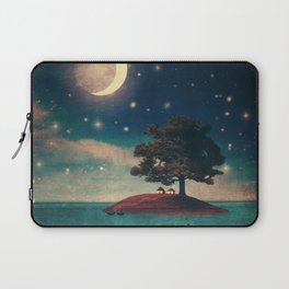 A Quiet Place for Two Laptop Sleeve