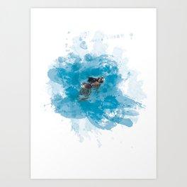Lemurian Peninsula Art Print