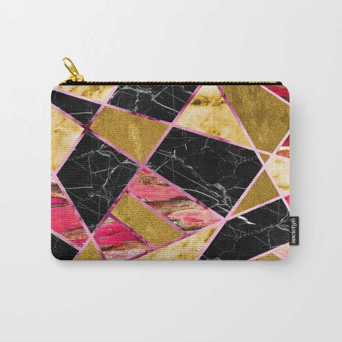 Abstract #456 Carry-All Pouch