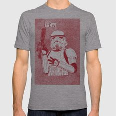 Storm Trooper MEDIUM Mens Fitted Tee Tri-Grey