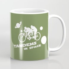 Tandems in Space in Green Mug
