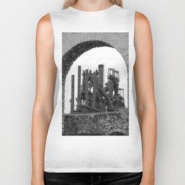 Bethlehem Steel Blast Furnace 7 Biker Tank