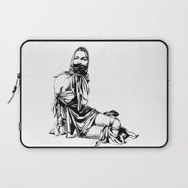Silk Scarf Slave. Yury Fadeev© Laptop Sleeve