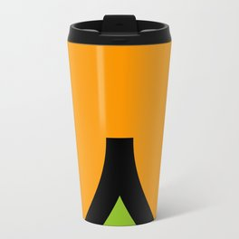 face 7 Metal Travel Mug