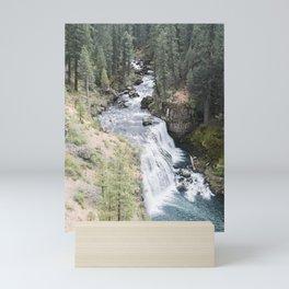 A Shortcut (McCloud Falls) Mini Art Print