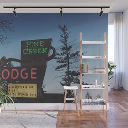 Pine Creek Lodge Wall Mural