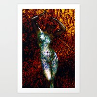 into the wild Art Prints featuring Wild by Stephen Linhart