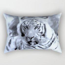 Animals and Art - Tiger Rectangular Pillow