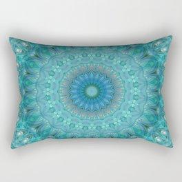 Mandala luminous Opal Rectangular Pillow