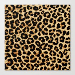 ReAL LeOparD Canvas Print
