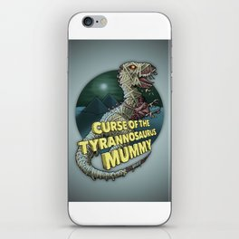 Curse of the Tyrannosaurus Mummy iPhone Skin
