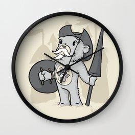 Don Quijoso de la Mancha Wall Clock