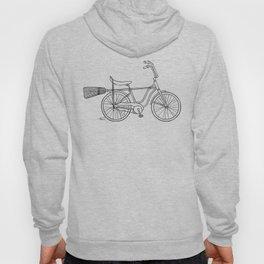 vintage witch bike Hoody