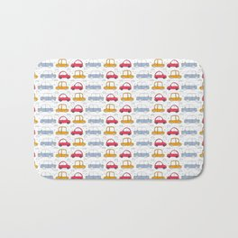 Car toon  Pattern Bath Mat