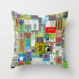 Kettle O...........!  Throw Pillow