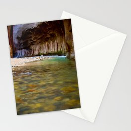 A Bend in the Narrows Stationery Cards