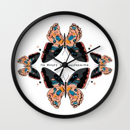 The beauty of transforming Wall Clock