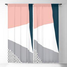 Modern geometry 2 Blackout Curtain