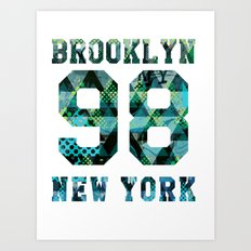 Brooklyn NYC Art Print