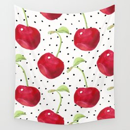 Cherry pattern II Wall Tapestry