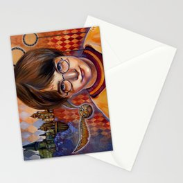 Harry's First Quidditch Match Stationery Cards