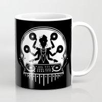shiva Mugs featuring Disco Shiva by starplexus