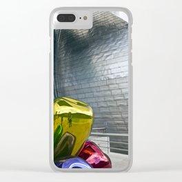 Guggenheim Museum, Bilbao, Spain Clear iPhone Case