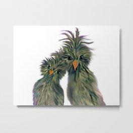 DODO LOVE BIRDS 2 Metal Print